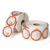 Personalized Permanent Adhesive Circle Paper Sticker Printing