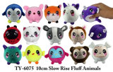 7cm Slow Rise Fluff Animals Novelety Toy