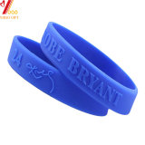 Wholesales Fashion Customized Silicone/Rubber Debossed /Embossed/Printed Logo Wristband for Event/Giveaway/Promotional Gift