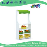 Factory Cheap White Wooden Puppet Table for Preschool (HJ-6305)