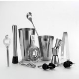 Cocktail Shaker Set Stainless Steel Bartender Kit