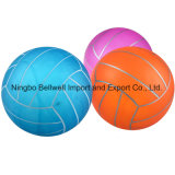 Multicolor PVC Pump up The Toy Small Volleyball