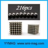 5mm 216 PCS Magnet Cube for Christmas