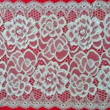 White Stretch Lace Garment Fabric Lace Trimming