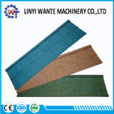 Environment Friendly Colorful Stone Coated Metal Roof Tile Shingle Type
