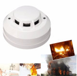 4 Wired 12V Photoelectric Smoke Fire Detector for Home Security