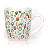 Wholesale Custom White Printing Tea Water Coffee Ceramic Cup Cheap