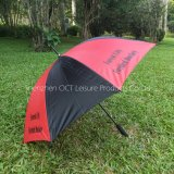 Promotion Golf Umbrella in Red and Black with Affordable Price (OCT-G30AD)