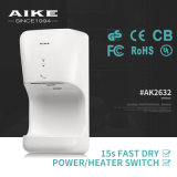 AK2632 Hotel Bathroom Appliances Automatic High Speed Air Hand Dryer
