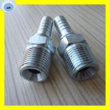 Straight Male NPT Hydraulic Hose Insert Coupling