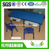 Children Furniture Study Table and Plastic Chairs for Kids (KF-01)