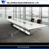 High End Marble Modern Office Solid Surface Boardroom Table