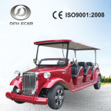 High Quality Low Speed Electruc Fuel 8 Seater Golf Cart