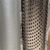 304 Stainless Steel Wire Mesh Perforated Metal Filter Tube Stainless Steel Round Filter Mesh Tube