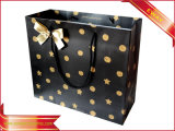Gift Paper Bag Gold Printing Garment Shopping Bag