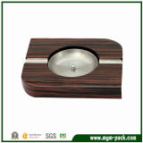 Wholesale Simple Design Square Wooden Pocket Ashtray