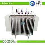 15kv Oil Immersed Power Transformer 200kVA Electric Transformer