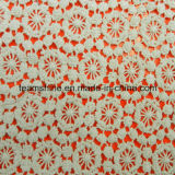 Fashion Water Soluble100 Cotton Embroidery Fabric Lace