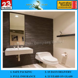 Bright Waterproof Clear Silver Bathroom Mirrors Square Meter Price