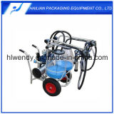Transparent Cow Milking Machine with Plastic Bucket