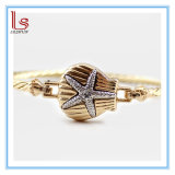 Fashion Alloy Shell Star and Cystals Accessories