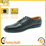 Soft Leather Lining Great Leather Upper Military Police Officer Shoes