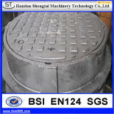 Light Duty Die Casting Iron Manhole Cover for Sewerage