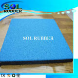 Bright Color Playground Rubber Safety Floor Tile