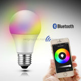 Wireless Bluetooth Speaker Smart LED Light Bulb Free APP 6W E27 Great