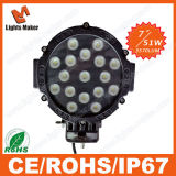 Lml-0451 51W 17PCS*3W Epistar LED Work Lamp 6'' Work Light LED