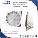 324X324 mm Air Exit Filter with Ral 7035 Color Jk6626.230 for Fan