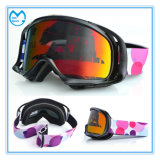 Special Coated Dust Proof Motocross Goggles with Anti Slip Strap