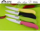 Eco Friendly Ceramic Fruit Knife with Injection Handle