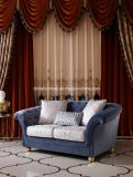 European Style French Royal Fabric Antique Sofa