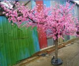 Artificial Peach Tree Realistic Cherry Tree Shaped Tree Home Shopping Mall Decoration