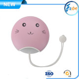 Pet Cat Design USB Rechargeable Hand Warmer Power Bank Electric Heater Portable with Night Light
