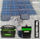 Latest High Quality Lithium Batteries Solar Portable Power Station with LED Light
