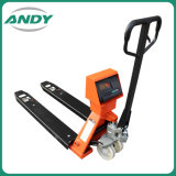 2t 2000kg 3t 3000kg Integrate Hydraulic Pump Nylon Hand Manual Pallet Stacker Weighting Electronic Scale Balance
