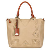 China Factory Wholesale Women Leather Hand Bags (MBLX033083)