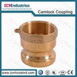 Brass Type A Camlock Hose Coupling