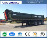 Cimc 3 Axles Side Dumping Tipper Semi Trailer Truck Chassis