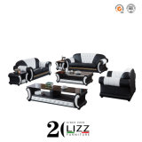 Antique Genuine Leather Home Furniture Modular Sofa Set for Living Room