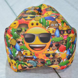 Hot Sale in Amazon, Alibaba Express, Square Head Inflatable Air Sleeping Bag Banana Lazybag Sofa