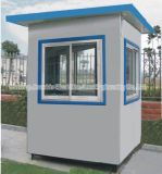 Prefabricated Mobile Portable House Shop Kiosk Sentry Box with Polycore Panel