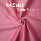 110GSM 100% Polyester Suede Fabric for Sofa and Shoes