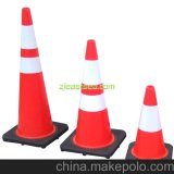 Red or Orange Durable Recycled Traffic Cones