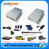 GPS Tracking with Temperature Sensor Fuel Monitoring