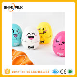 1PCS Kitchen Tool Egg Timer Creative Alarm Cartoon Reminder Cartoon Egg Mechanical Timer Baking Intelligent Timers Cooking Tools