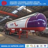 60000liters 60cbm 30tons LPG Bullet Transport Tank Semi Trailer on Sale