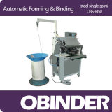 Obinder Automatic Spiral Wire Forming & Binding Machine Obsh450